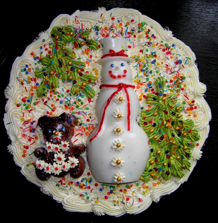 Мастер класс по новогодним тортам - Мастер-классы украшения тортов